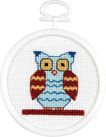 Owl Mini - Cross Stitch Kit