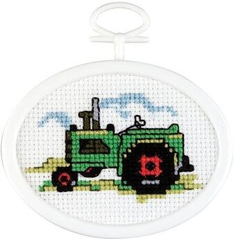 Tractor Mini - Cross Stitch Kit