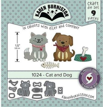 Cat and Dog - Karen Burniston Craft Die