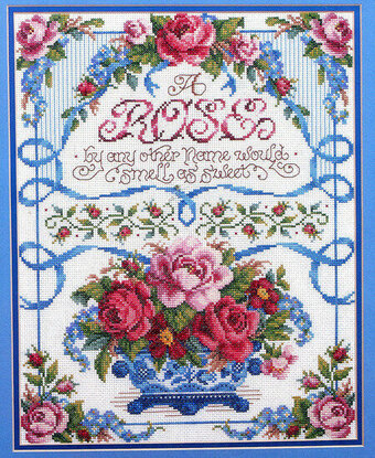 A Rose by Any Other Name - Cross Stitch Pattern