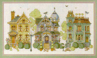 The Neighborhood - Cross Stitch Pattern