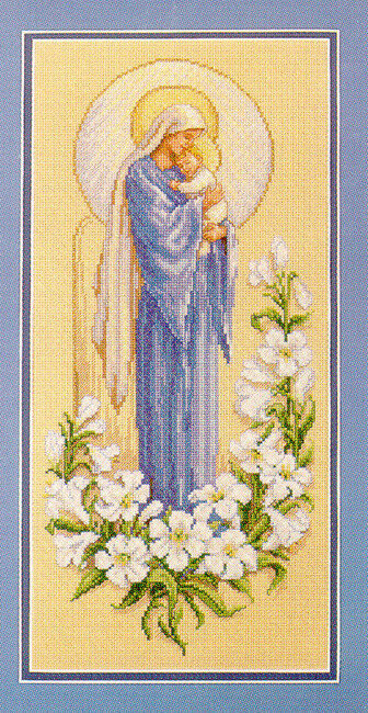 Design Works Be Joyful Religious Counted Cross Stitch Kit 14 Count Aida