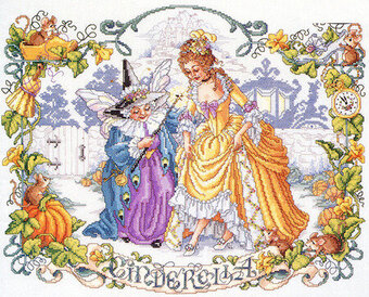 Cinderella - Cross Stitch Pattern