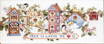 Home Tweet Home - Cross Stitch Pattern