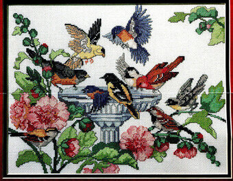 "Design Works NATURE SURROUNDS ME Counted Cross Stitch Kit 12/"" x 15/"""