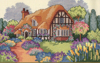English Cottage - Cross Stitch Pattern
