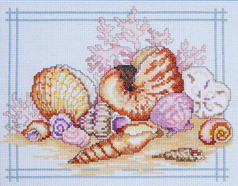 Seashells - Cross Stitch Pattern