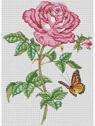 Rose Beauty - Cross Stitch Pattern