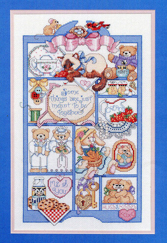 Meant To Be Together - Cross Stitch Pattern