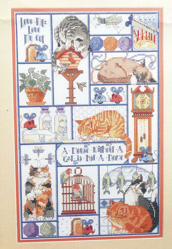 Cats Cats Cats - Cross Stitch Pattern