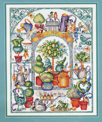 Watering Can Collection - Cross Stitch Pattern