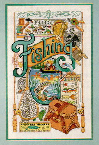 Fishing Nostalgia - Cross Stitch Pattern