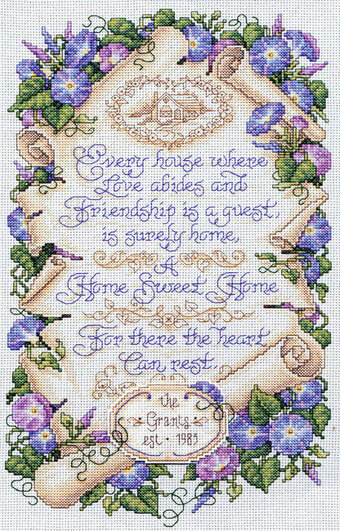 Where Love Abides - Cross Stitch Pattern