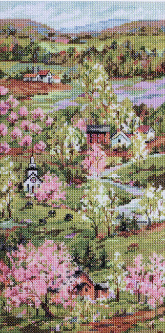 New England Spring - Cross Stitch Pattern