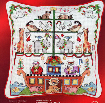 Noah's Ark Christmas -  Cross Stitch Pattern
