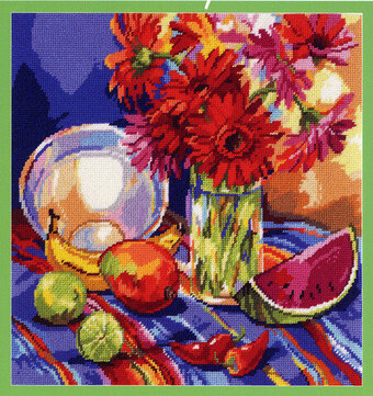 South American Still Life - Cross Stitch Pattern