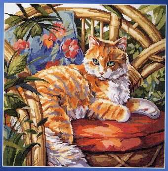 Incredible Cat On A Sofa Cross Stitch Pattern Andrewgaddart Wooden Chair Designs For Living Room Andrewgaddartcom