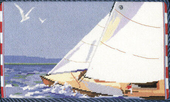 Sailing - Cross Stitch Pattern
