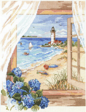 A View From the Window - Cross Stitch Pattern