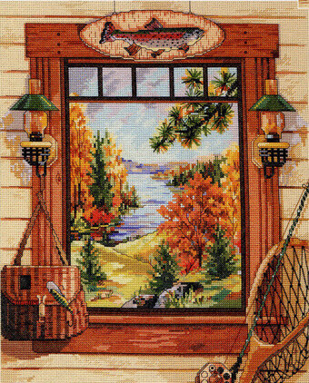 Sportman's Dream - Cross Stitch Pattern