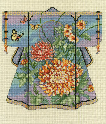 Kimono Girl Cross Stitch