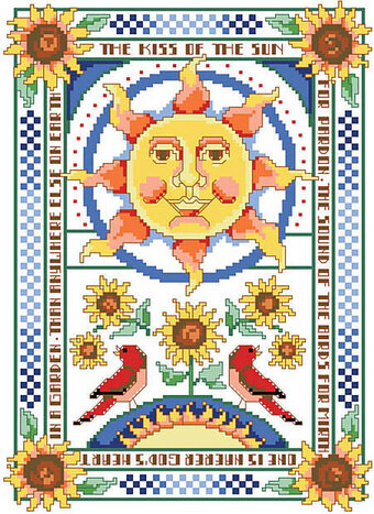 Kiss of the Sun, The - Cross Stitch Pattern