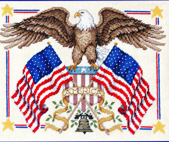 American Eagle - Cross Stitch Pattern