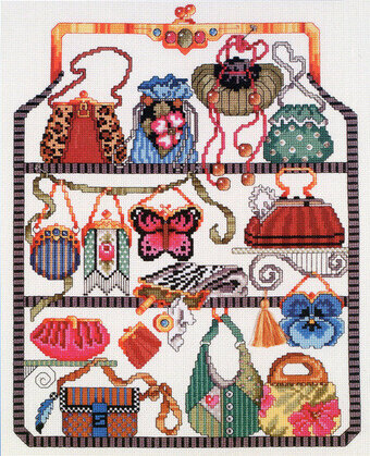 Purse Collection Sampler - Cross Stitch Pattern
