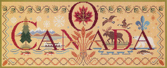 O Canada - Cross Stitch Pattern