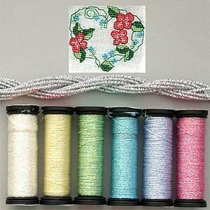 Metallic Thread Gift Collection - Pastel Sampler