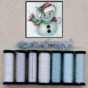 Metallic Thread Gift Collection - Snowflake