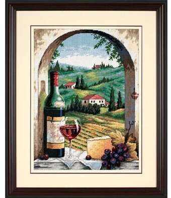 Tuscan View - Needlepoint Kit