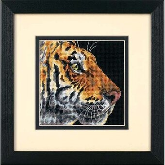 Tiger Profile - Needlepoint Kit