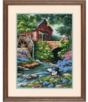Old Mill Cottage - Needlepoint Kit