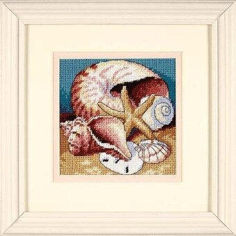 Shell Collage - Needlepoint Kit