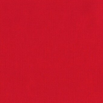 Kona Solid 100% Cotton Fabric Fat Quarter - Red