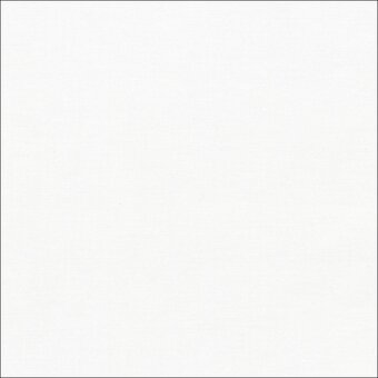 Kona Solid 100% Cotton Fabric Fat Quarter - White