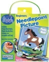 Horse Learn To Stitch Needlepoint Kit