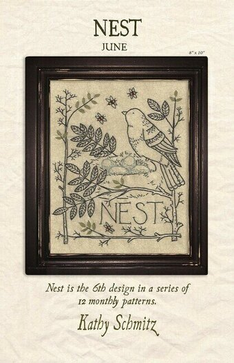 Nest - Embroidery Pattern