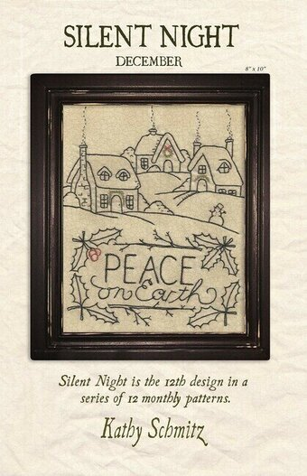 Silent Night - Embroidery Pattern