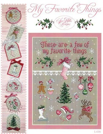 My Favorite Things - Cross Stitch Pattern
