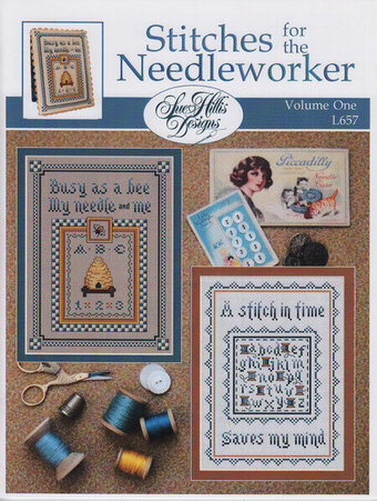 Stitches For the Needleworker - Vol 1 - Cross Stitch Pattern