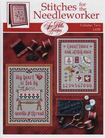 Stitches For the Needleworker - Vol 2 - Cross Stitch Pattern