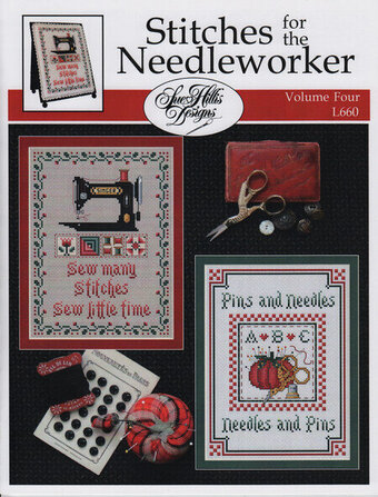 Stitches For the Needleworker - Vol 4 - Cross Stitch Pattern