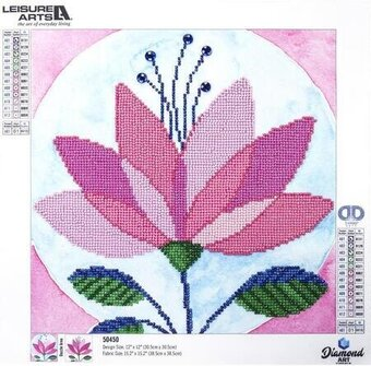 Modern Flower - Leisure Arts Diamond Art Kit