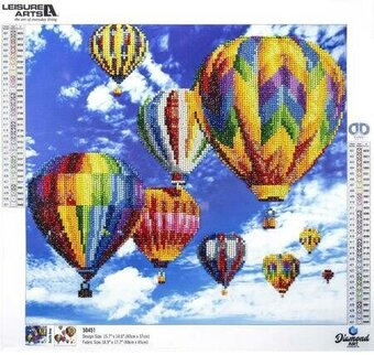 Balloons - Leisure Arts Diamond Art Kit