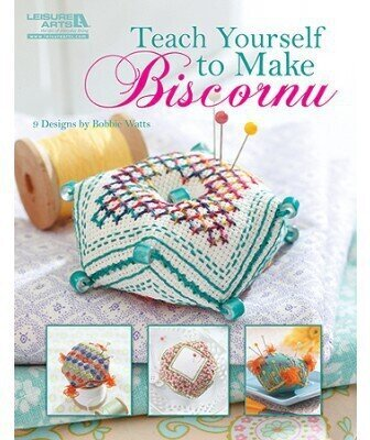 Teach Yourself to Make Biscornu - Cross Stitch Pattern