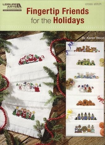 Fingertip Friends for the Holidays - Cross Stitch Pattern