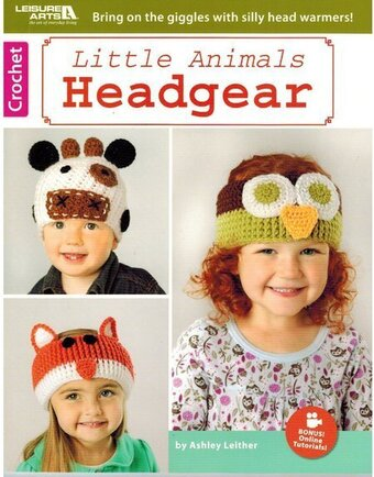Little Animals Headgear - Crochet Pattern