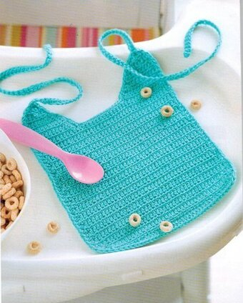 One-Skein Baby Projects - Crochet Pattern